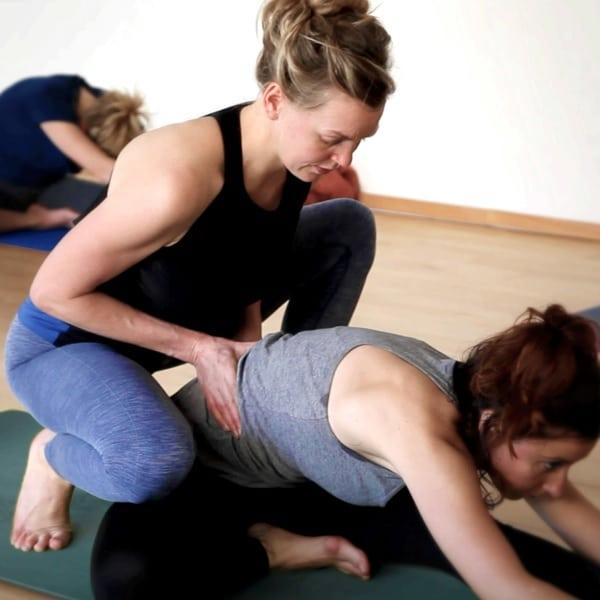 Viola Groenhart professeur de yoga à nantes