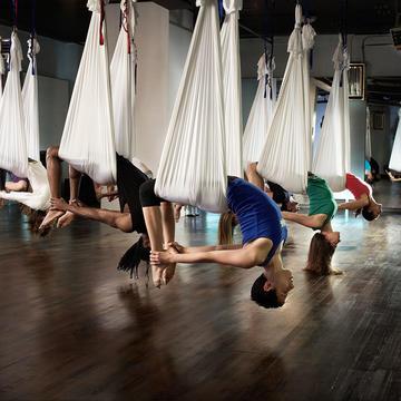 Yoga aérien nantes