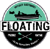 Floating Nantes paddle yoga