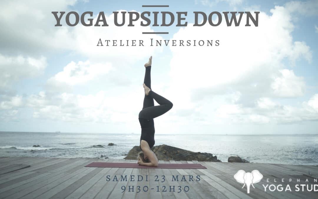 Atelier UPSIDE DOWN – dim. 24 mars