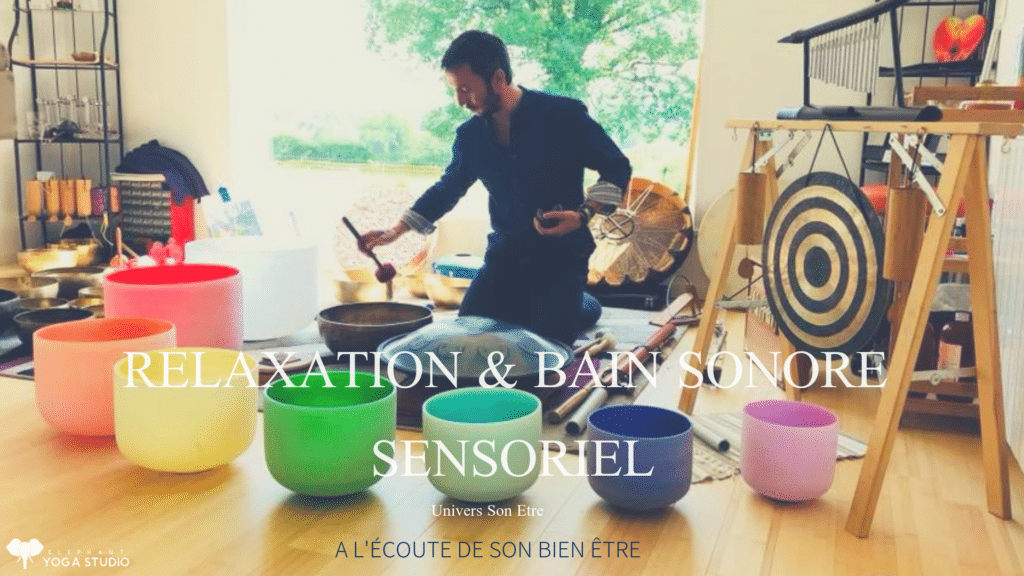 Atelier méditation et bain sonor nantes