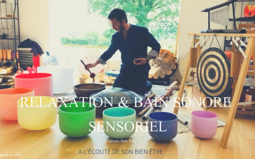 Relaxation et bain sonore sensoriel du dimanche soir…. 9 juin et 7 juillet 18h30