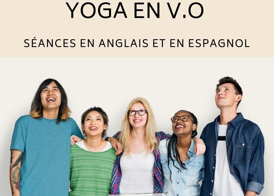 Yoga Version Originale 24 mai, 7juin, 14 juin et 5 juillet