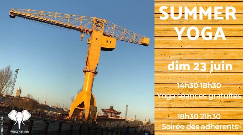 Summer Yoga – dim 23 juin 14h30-18h30