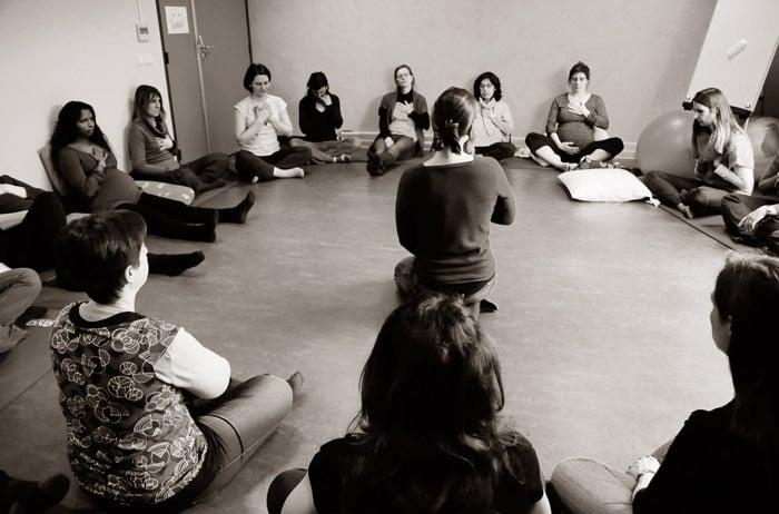 Cycle d'ateliers Chant prénatal et Ateliers Chanter avec bébé – sept/nov 2019