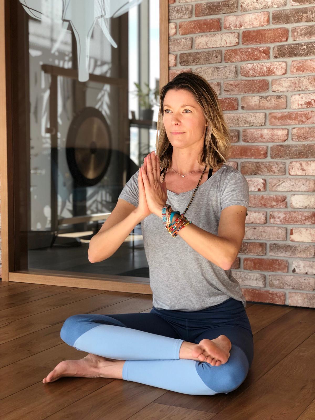Sophie Avignon professeur de yoga à Nantes