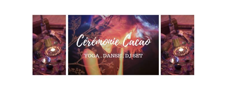Cérémonie Cacao – Yoga/Danse/Dj Set – Sam 7 dec. 19h-22h
