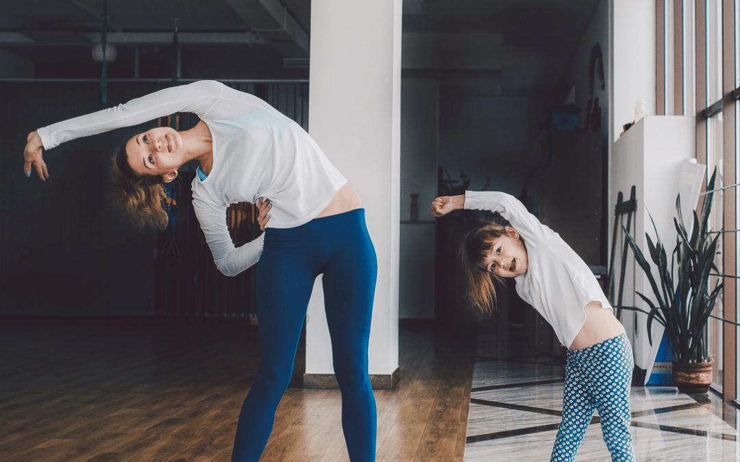 Atelier Yoga parent enfant  – 1 fois par mois – Septembre : samedi 25 – 15h