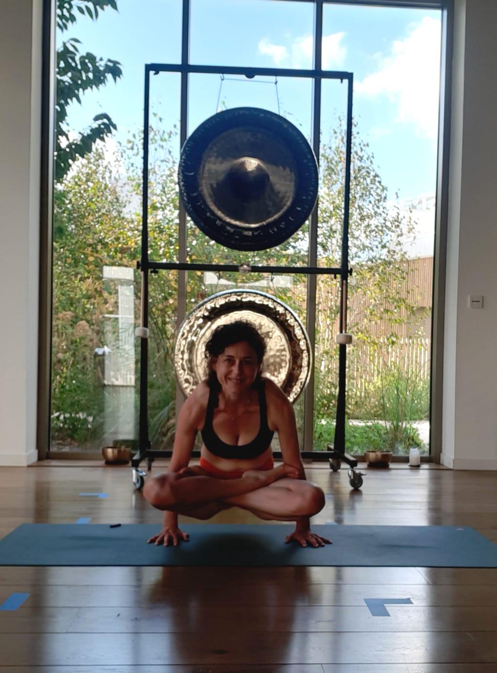 eliane prof de yoga Nantes