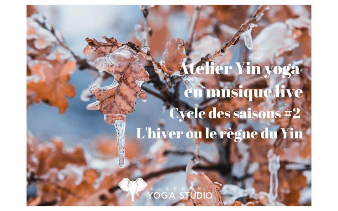 atelier yin yoga en musique live à Nantes