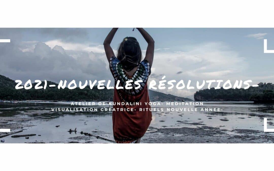 atelier kundalini yoga résolutions 2021