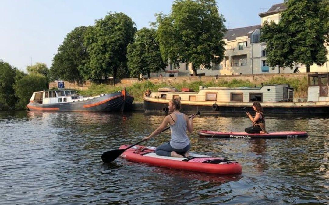 Paddle Yoga sur l'Erdre – Nantes – saison 2021