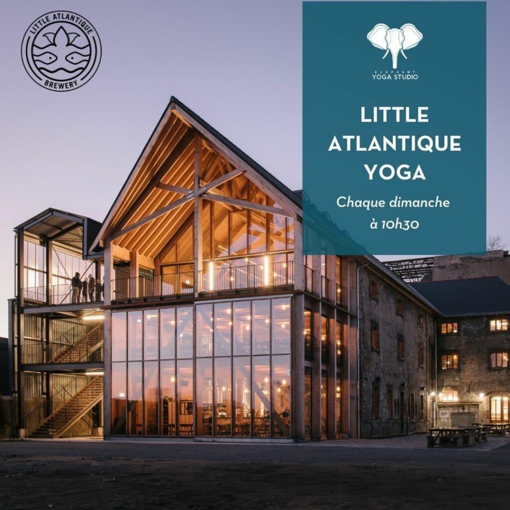 yoga & music little atlantique brewery nantes