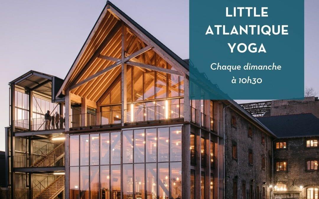 Yoga & Music – Little Atlantique Brewery – les dimanches à 10h30